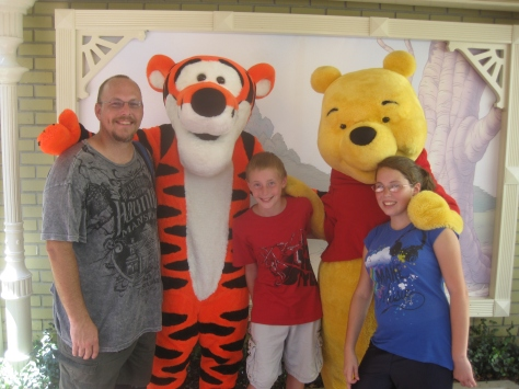 Tigger and Pooh City Hall Magic Kingdom 2011