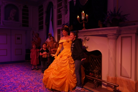 Enchanted Tales with Belle Magic Kingdom December 2012