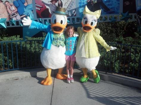 Daisy and Donald Hollywood Studios 2012