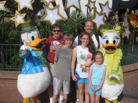 Daisy and Donald Hollywood Studios 2011