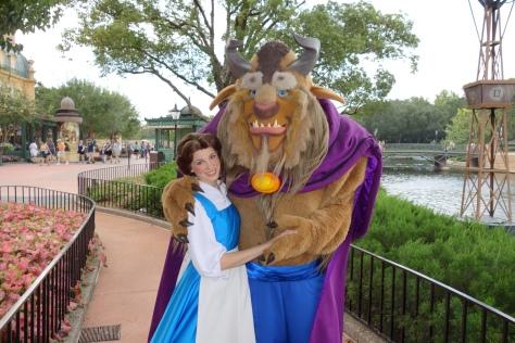 Beast with Belle in France September 2012.