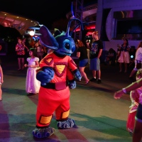 Stitch (Experiment 626) at Mickey's Not So Scary Halloween Party