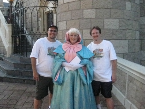 Fairy Godmother - Magic Kingdom 2010