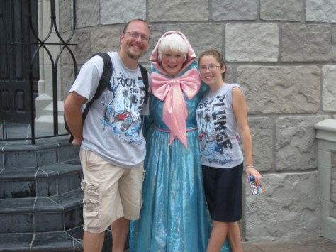 Fairy Godmother - Magic Kingdom 2011