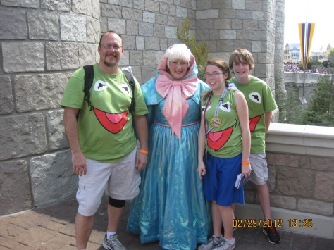 Fairy Godmother - Magic Kingdom 2012 Leap Day
