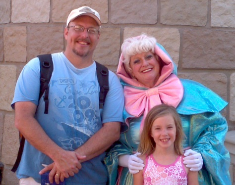 Fairy Godmother - Magic Kingdom 2012