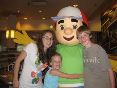 Handy Manny at Hollywood and Vine 2011