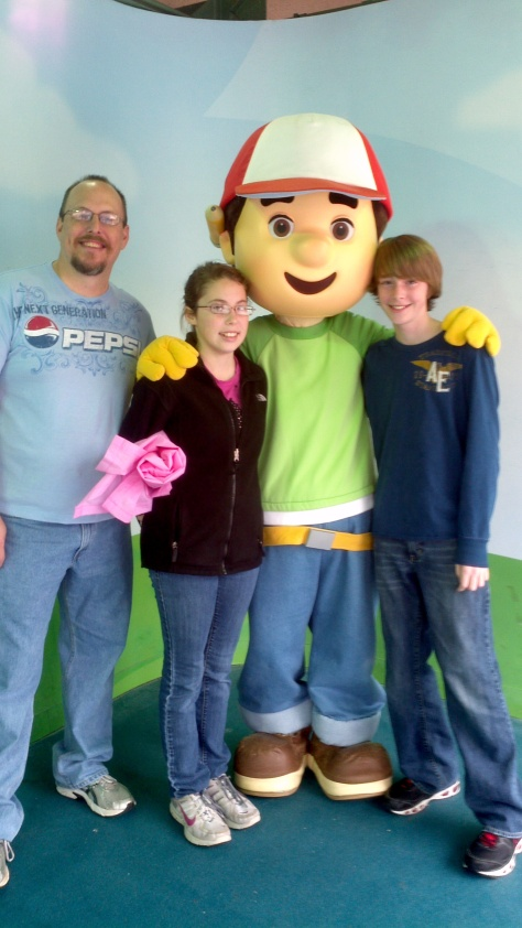 Handy Manny Hollywood Studios 2012