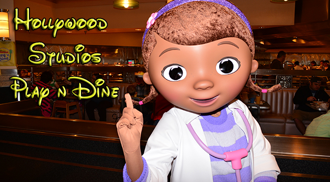 Disney Junior Play 'n Dine Lunch