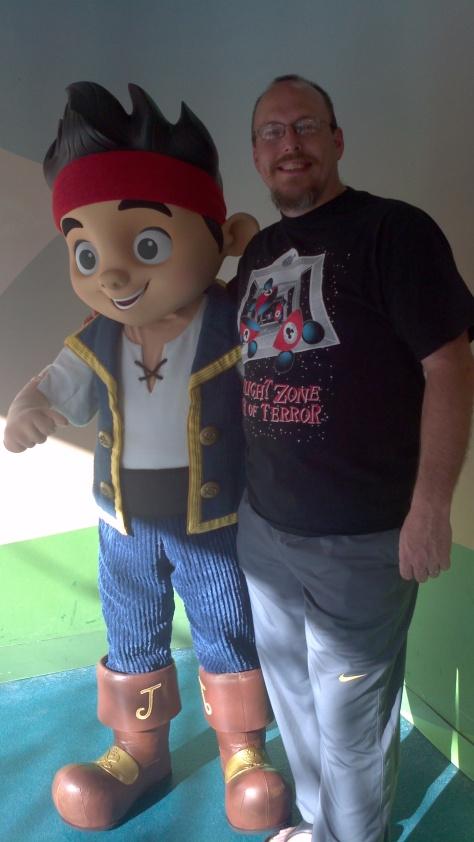 Jake at Hollywood Studios 2012