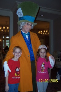 Mad Hatter at 1900 Park Fare in the Grand Floridian 2005