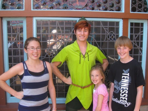 Peter Pan - Fantasyland 2011