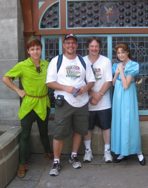 Peter Pan and Wendy - Fantasyland 2010