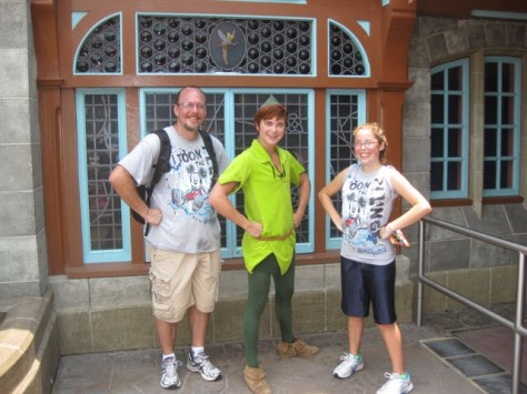 Peter Pan - Fantasyland 2011