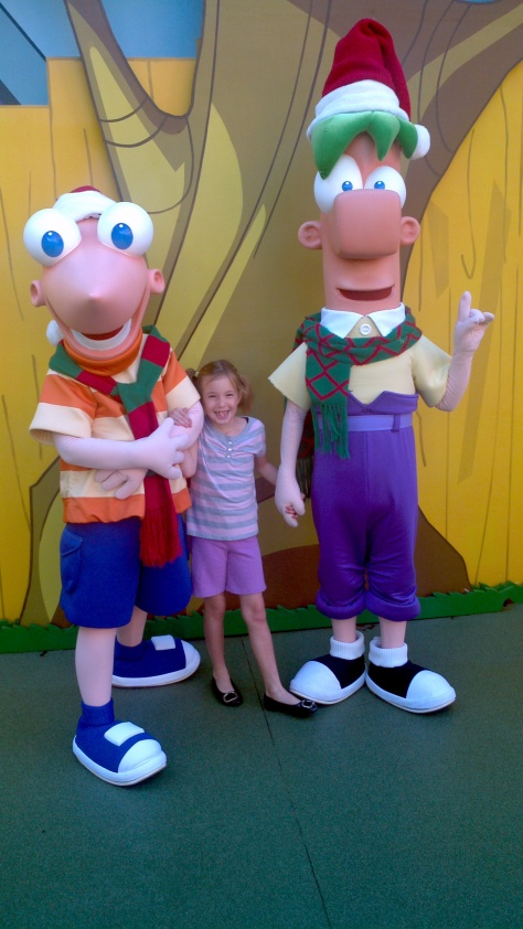 Phineas and Ferb Hollywood Studios 2011