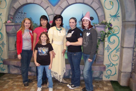Pocahontas Disneyland 2007