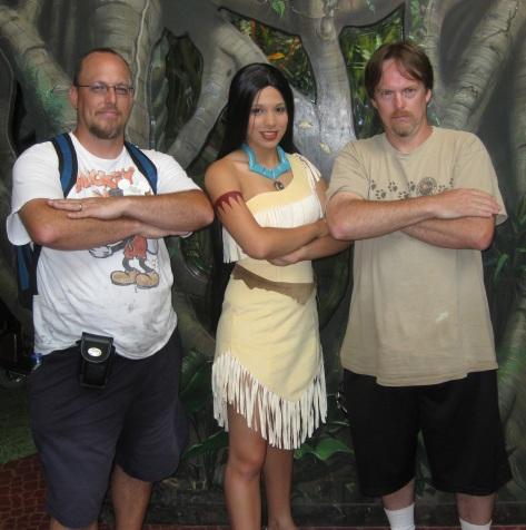 Pocahontas in 2009 at Rafiki's Planet Watch