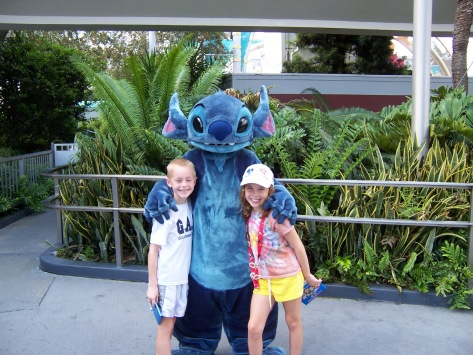 Stitch in Tomorrowland Magic Kingdom 2006