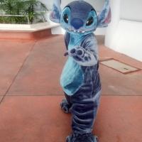 Stitch in Magic Kingdom