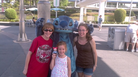 Stitch in Tomorrowland Magic Kingdom 2011