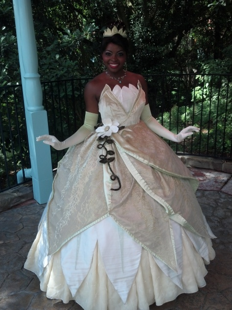 Tiana - Magic Kingdom 2012