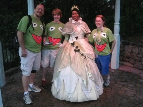 Tiana - Magic Kingdom 2012 Leap Day