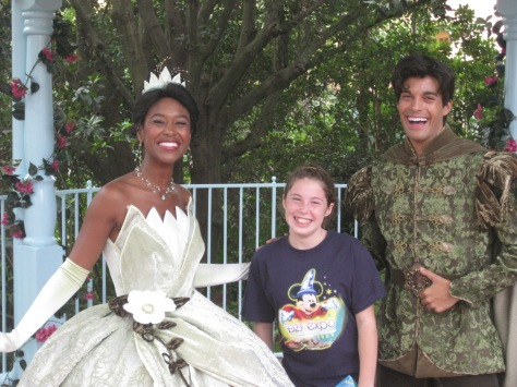 Tiana and Naveen Magic Kingdom 2009