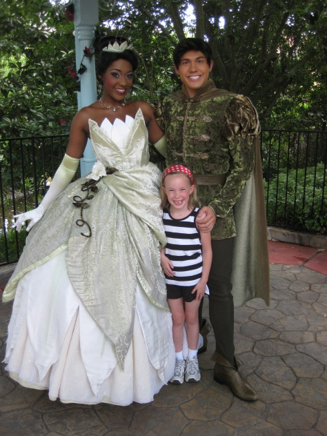 Tiana and Naveen - Magic Kingdom 2010
