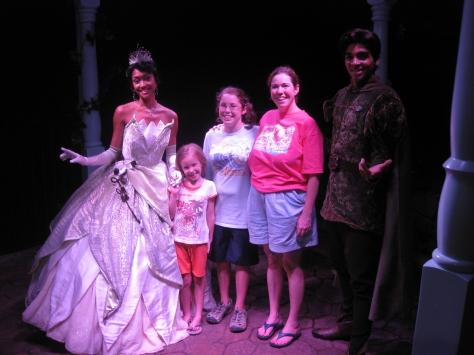 Tiana  and Naveen- Magic Kingdom 2010