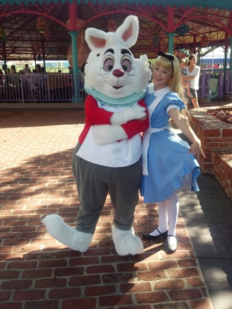 White Rabbit - Magic Kingdom 2012