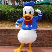Donald Duck at Epcot