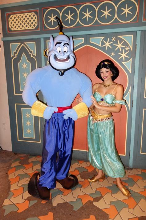 Genie and Jasmine