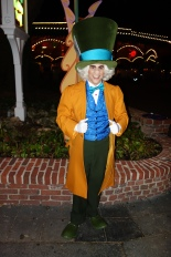 Mad Hatter at Mickey's Not So Scary Halloween Party - September 2012