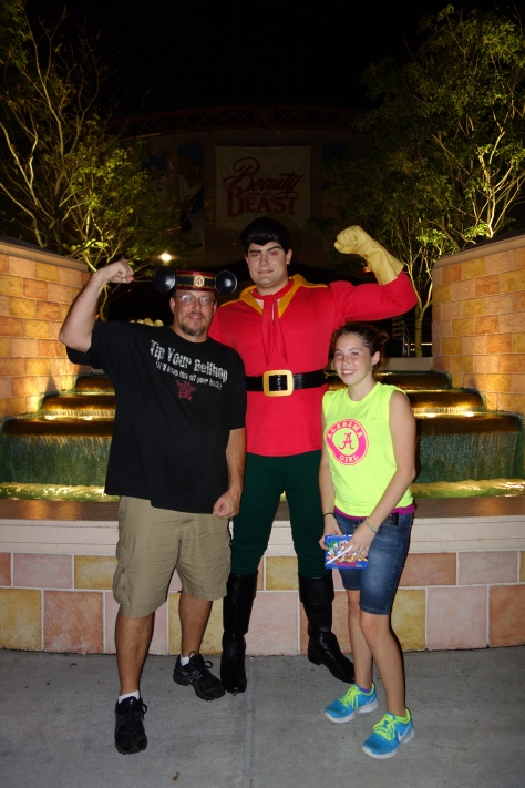 Gaston at the Villains Bash - September 2012