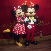 Mickey Mouse at Town Square Theater in Magic Kingdom