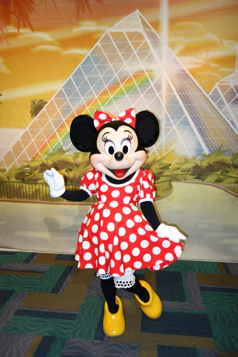 Minnie Epcot Character Spot 2013