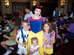 Snow White at Cinderella's Royal Table in Magic Kingdom