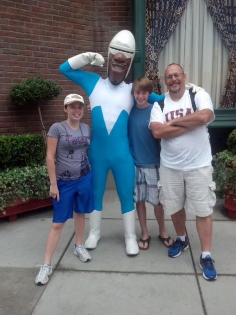 Frozone at California Adventure 2012