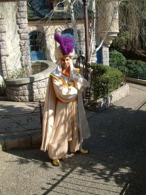 Disneyland Paris, Character meet and greets, Aladdin, Prince Ali