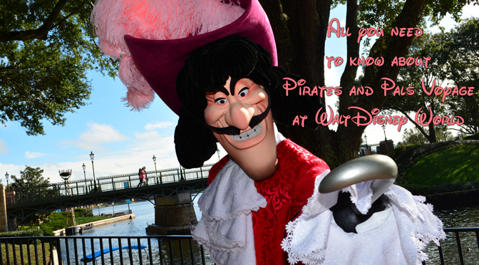 All you need to know about the Pirates and Pals Fireworks Voyage in Walt Disney World