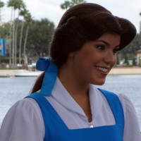 Belle at France in Epcot