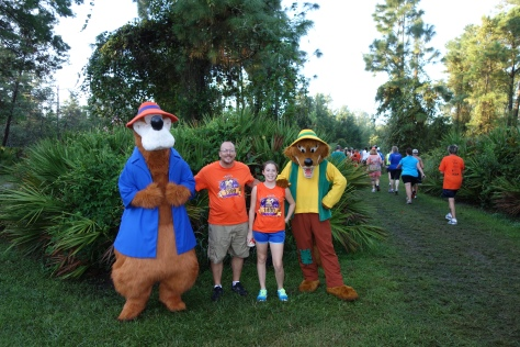 Brer Bear and Fox 5k 2012