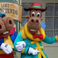 Limited Time Magic:  Long Lost Friends - Clarabelle Cow and Horace Horsecollar