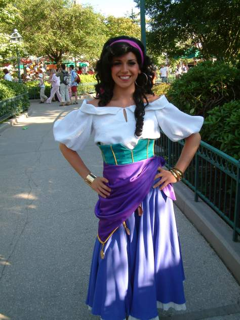Esmeralda is hard to find at the Parks, but when she is out you can find her in fantasyland most of the time
