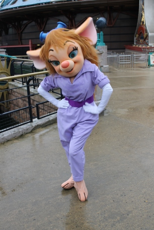 Gadget Disneyland Paris character meet and greet