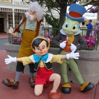 Limited Time Magic:  Long Lost Friends Week - Pinocchio, Gepetto and Jiminy Cricket