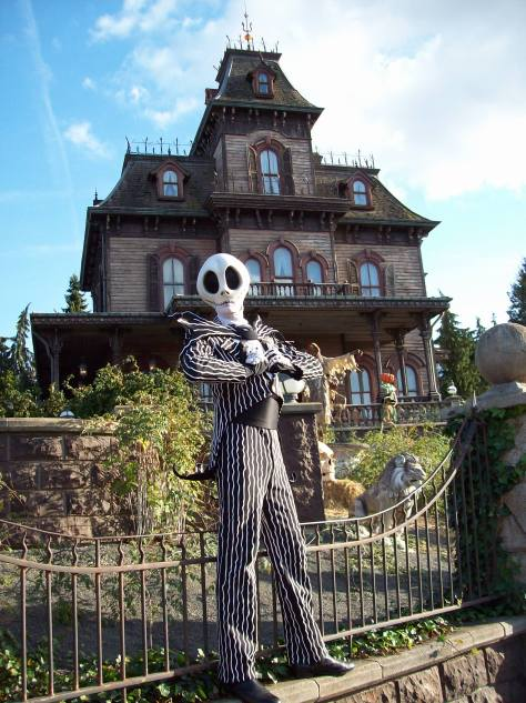 Jack does Meet'n'Greets during the Halloween Season and for the first time during the Christmas Season in 2012