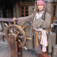 Worldwide Wednesdays - Captain Jack Sparrow at Disneyland Paris