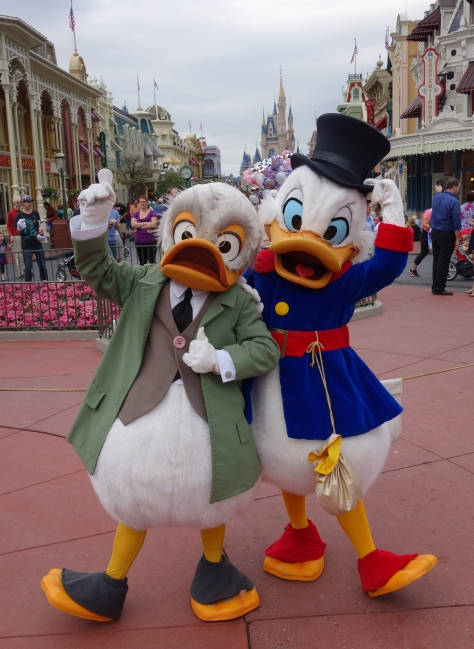 Walt Disney World, Magic Kingdom, Limited Time Magic, Ludwig Von Drake, Scrooge McDuck