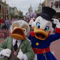 Limited Time Magic:  Long Lost Friends Week - Ludwig Von Drake and Scrooge McDuck